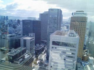 大阪マルビルと阪神百貨店