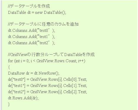 今までのソースコード表示