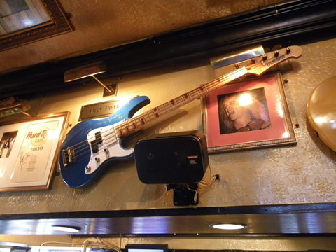Billy Sheehan's Bass Guitar