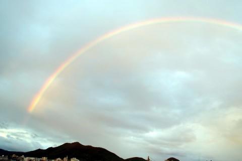 虹のもてなし