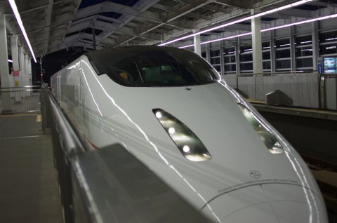 新幹線で一路薩摩川内へ