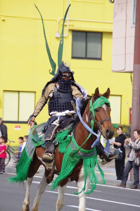 騎馬隊の戦いは壮絶でございました。