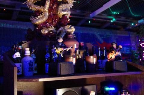 バンド演奏もございました。LEDなので電気代は安くなったとのこと。