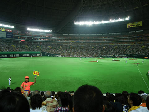 ソフトバンク松田選手のホームランボールを取り損ねた男