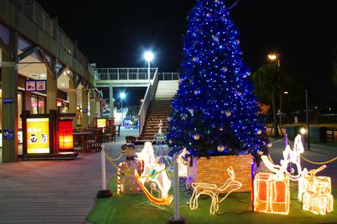 【PENTAX K-x】鹿児島ドルフィンポートのクリスマスイルミネーション