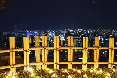 【PENTAX K-x】城山観光ホテルのクリスマスイルミネーション