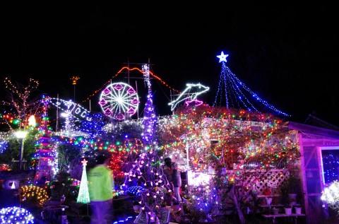 カセダーランドは夢の国-鹿児島県南さつま市加世田のクリスマスイルミネーション-