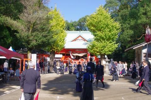 大汝牟遅神社(鹿児島県日置市吹上町)の流鏑馬神事